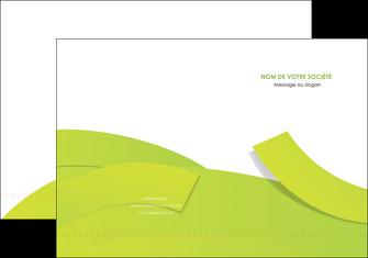creation graphique en ligne pochette a rabat espaces verts vert vert pastel colore MLGI57242