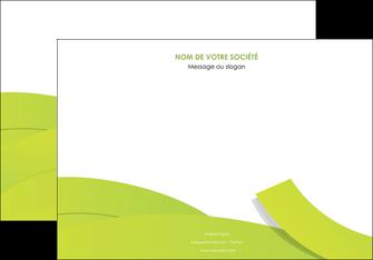 creer modele en ligne affiche espaces verts vert vert pastel colore MIF57252
