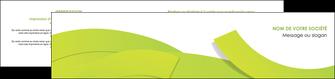 creer modele en ligne depliant 2 volets  4 pages  espaces verts vert vert pastel colore MLIG57266