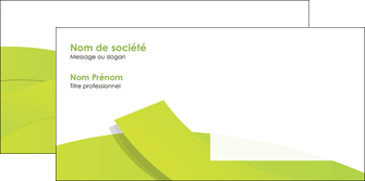 modele enveloppe espaces verts vert vert pastel colore MLIG57268