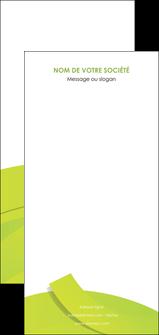 creation graphique en ligne flyers espaces verts vert vert pastel colore MLGI57280