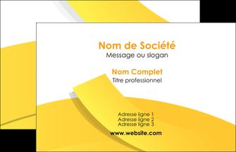 exemple carte de visite jaune fond colore fond jaune MLIG57344