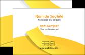 exemple carte de visite jaune fond colore fond jaune MLGI57344