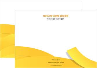 impression affiche jaune fond colore fond jaune MIF57354