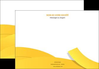 creer modele en ligne affiche jaune fond colore fond jaune MLIG57356