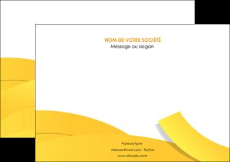 imprimerie affiche jaune fond colore fond jaune MIF57358