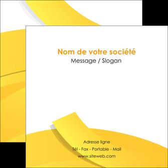 faire modele a imprimer flyers jaune fond colore fond jaune MLIG57368