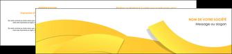 exemple depliant 2 volets  4 pages  jaune fond colore fond jaune MIF57370