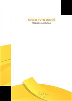 modele affiche jaune fond colore fond jaune MIF57378