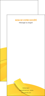 modele en ligne flyers jaune fond colore fond jaune MLIG57384