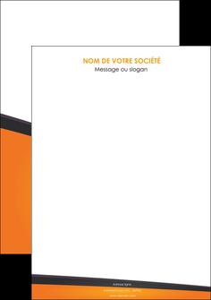 creation graphique en ligne affiche orange fond orange colore MLGI57622