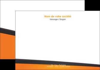 faire modele a imprimer flyers orange fond orange colore MLGI57644