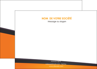 imprimerie flyers orange fond orange colore MLGI57648