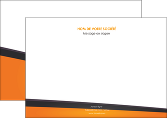 creer modele en ligne flyers orange fond orange colore MIF57654