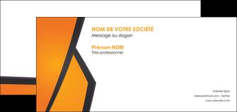 cree carte de correspondance orange fond orange colore MLGI57658
