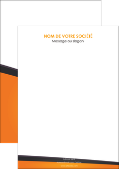 creation graphique en ligne flyers orange fond orange colore MIF57666