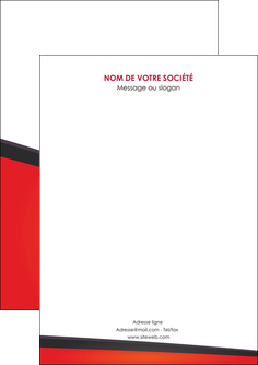 creer modele en ligne flyers orange rouge orange colore MIF57734