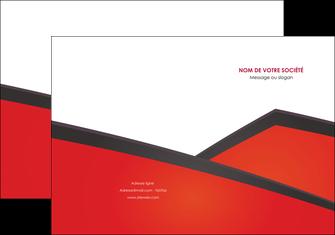 personnaliser modele de pochette a rabat orange rouge orange colore MIF57748