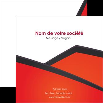 imprimer flyers orange rouge orange colore MIF57768