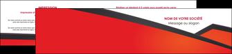creer modele en ligne depliant 2 volets  4 pages  orange rouge orange colore MIF57770