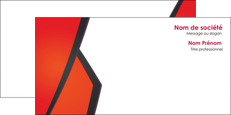 maquette en ligne a personnaliser enveloppe orange rouge orange colore MIF57772