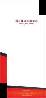 creer modele en ligne flyers orange rouge orange colore MIF57784