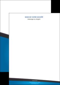 creer modele en ligne affiche bleu fond bleu couleurs froides MIF57850