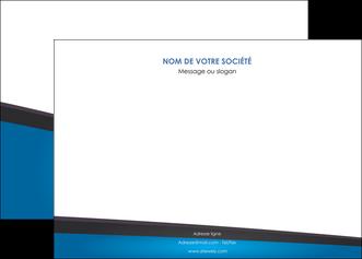 faire modele a imprimer affiche bleu fond bleu couleurs froides MIF57866