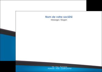 exemple flyers bleu fond bleu couleurs froides MLIG57870