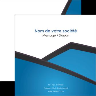 exemple flyers bleu fond bleu couleurs froides MIF57878