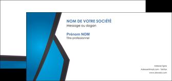 personnaliser modele de carte de correspondance bleu fond bleu couleurs froides MLIG57884