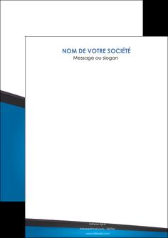 imprimerie flyers bleu fond bleu couleurs froides MLIG57892