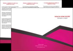 Commander Réaliser une plaquette  realiser-plaquette Dépliant 6 pages Pli roulé DL - Portrait (10x21cm lorsque fermé)
