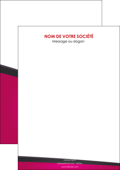 modele en ligne flyers fuchsia gris fond fuchsia MIF57944