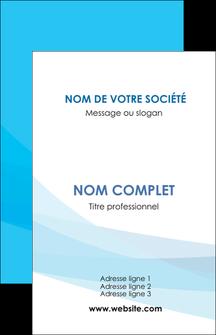 modele carte de visite web design bleu bleu pastel couleurs froides MIF57950