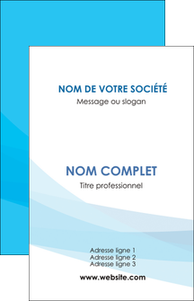 modele carte de visite web design bleu bleu pastel couleurs froides MLGI57950