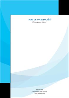 modele en ligne affiche web design bleu bleu pastel couleurs froides MLIG57956