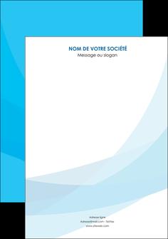 faire affiche web design bleu bleu pastel couleurs froides MIF57958