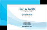 exemple carte de visite web design bleu bleu pastel couleurs froides MLGI57961