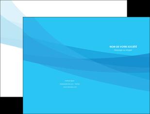personnaliser maquette pochette a rabat web design bleu bleu pastel couleurs froides MIF57962