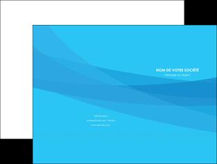 faire pochette a rabat web design bleu bleu pastel couleurs froides MIF57964