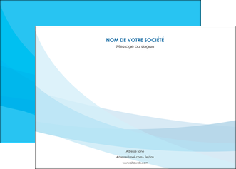 personnaliser modele de affiche web design bleu bleu pastel couleurs froides MIF57970