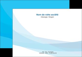 exemple flyers web design bleu bleu pastel couleurs froides MLGI57974
