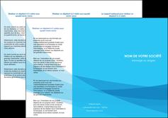 modele en ligne depliant 3 volets  6 pages  web design bleu bleu pastel couleurs froides MLGI57976