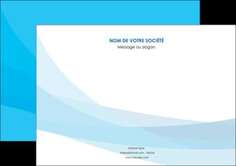 imprimer flyers web design bleu bleu pastel couleurs froides MIF57984