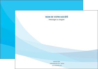 imprimer flyers web design bleu bleu pastel couleurs froides MLIG57984