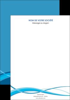 creation graphique en ligne affiche bleu couleurs froides fond bleu MIF58122
