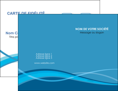 creation graphique en ligne carte de visite bleu couleurs froides fond bleu MLGI58124