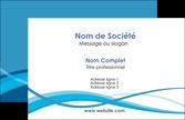 realiser carte de visite bleu couleurs froides fond bleu MLGI58126