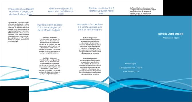 exemple depliant 4 volets  8 pages  bleu couleurs froides fond bleu MLGI58162